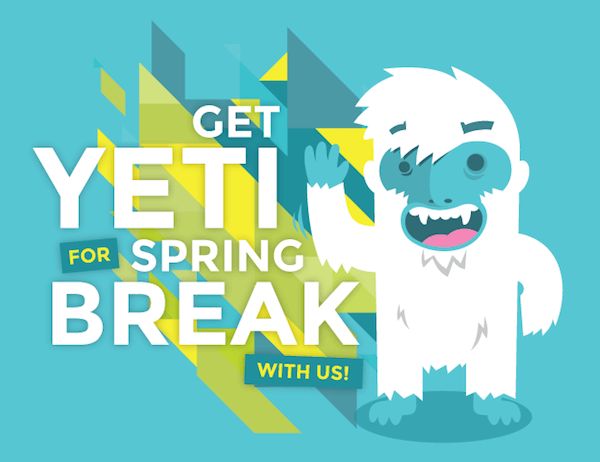 Who's YETI for Some Cool Prizes?